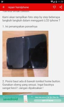 Cara Ganti LCD ALL Handpone apk screenshot