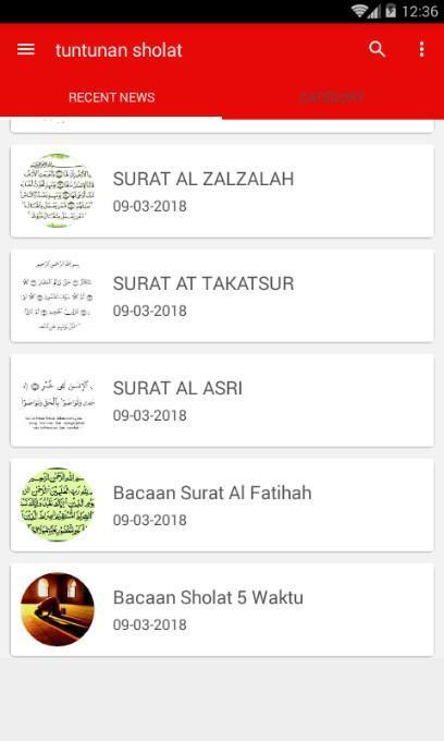 Bacaan Sholat Dan Surat Pendek For Android Apk Download