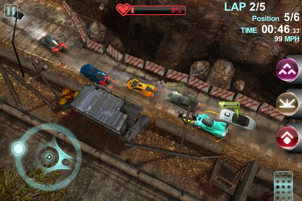 blur racing game free download apk