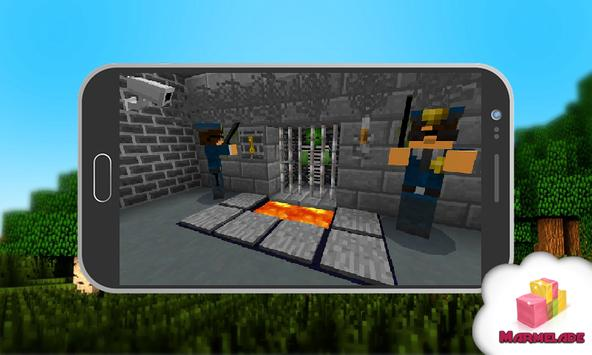 Map Steve Escape Story Minecraft poster