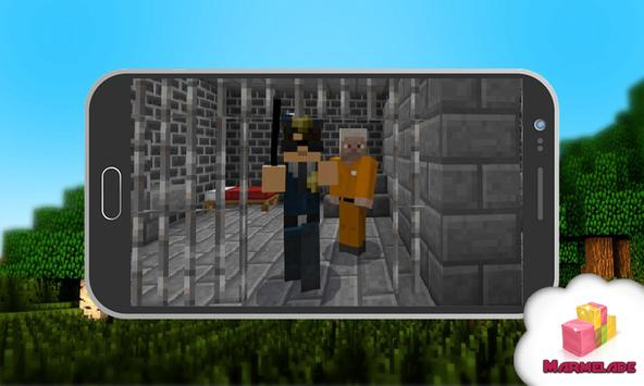 Map Steve Escape Story Minecraft screenshot 1