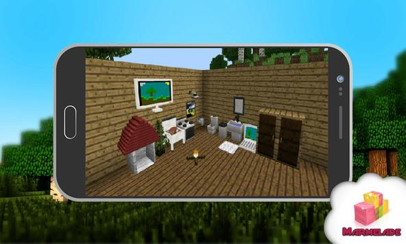More Furniture 2018 Minecraft poster