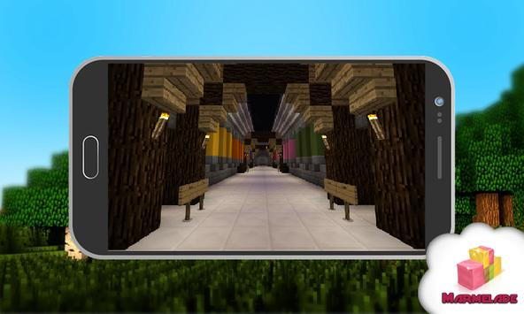 One Shot PvP Map for Minecraft screenshot 1