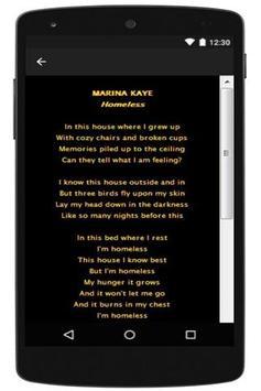 Marina Kaye apk screenshot