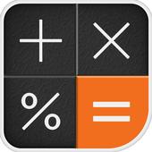 Calculator Memory & Percent icon