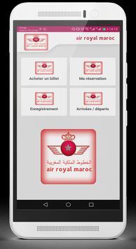 royal air maroc billet poster