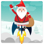 Christmas Santa Gravity : Kids icon