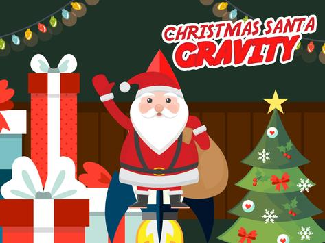 Christmas Santa Gravity : Kids poster