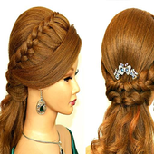 Hairstyles haircut & tutorials icon