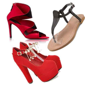 Women's shoes fashion icon