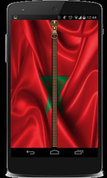 Zipper Screen Maroc poster
