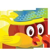 Twin Birds - Not happy bird icon