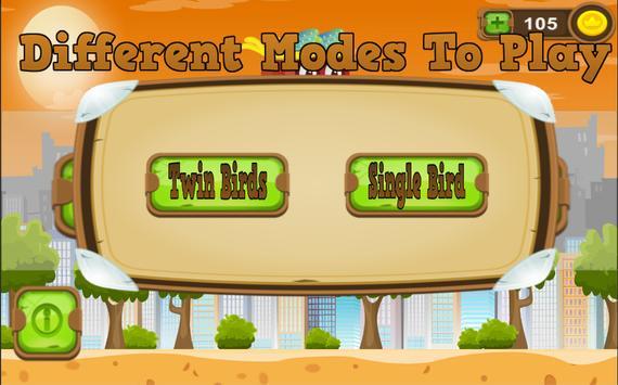 Twin Birds - Not happy bird apk screenshot