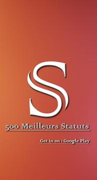 500 Meilleurs Statuts screenshot 2