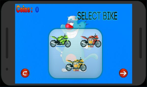 Oggy Motorbike Adventure apk screenshot