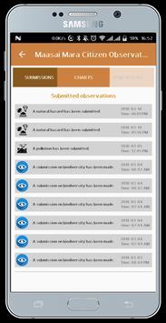 Mara Citizen Observatory App screenshot 4