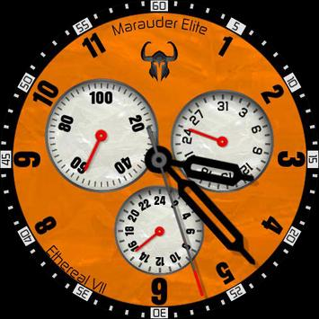 Ethereal VII - Fire Orange poster