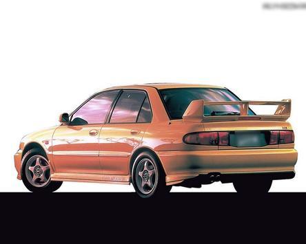 Themes Mitsubishi Evolution apk screenshot