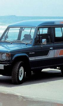 Themes Mitsubishi Pajero apk screenshot