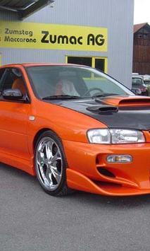 Themes Subaru Impreza poster