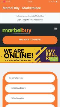 Marbel Buy - Marketplace screenshot 1