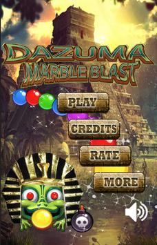 Dazuma Marble Blast poster