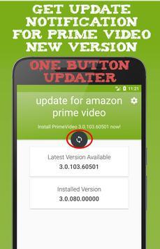 update for amazon prime video apk screenshot