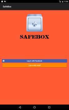 SafeBox apk screenshot