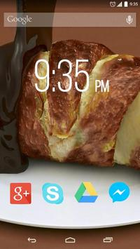 Chocolate Croissant Live WP apk screenshot