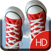 Flower sneakers Live Wallpaper icon