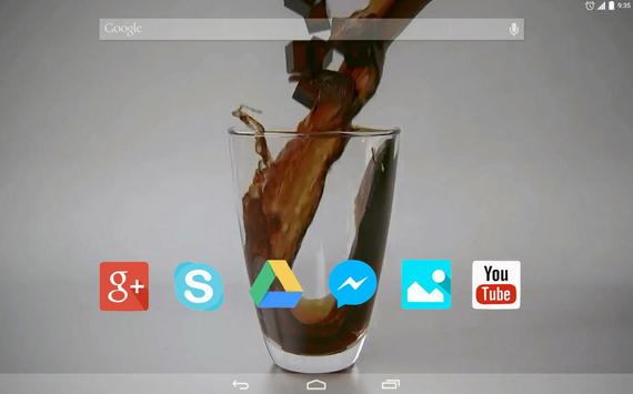 Ice Cocktail Live Wallpaper apk screenshot