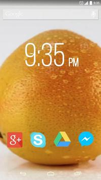 Sweet Citrus Live Wallpaper poster