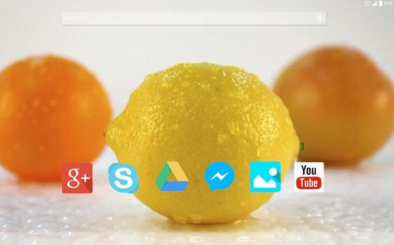 Sweet Citrus Live Wallpaper apk screenshot