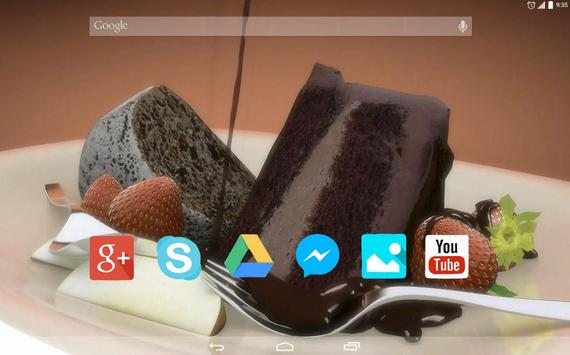 Sweet Dessert Live Wallpaper apk screenshot