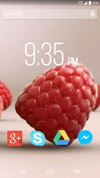 Sweet Raspberry Live Wallpaper poster