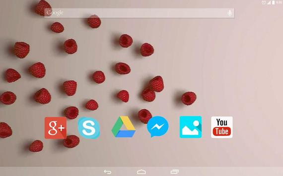 Sweet Raspberry Live Wallpaper apk screenshot