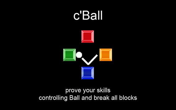 c'Ball poster