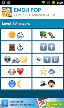 Emoji Pop - Answer Guide apk screenshot