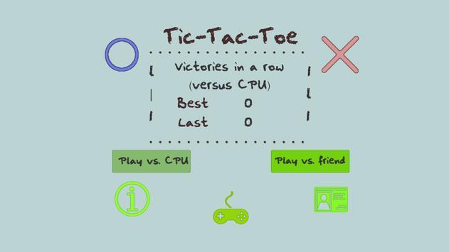 Tic-Tac-Toe(Jogo da Velha) screenshot 1
