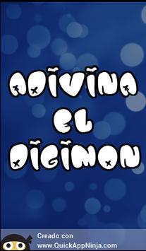 Adivinador Digimon poster