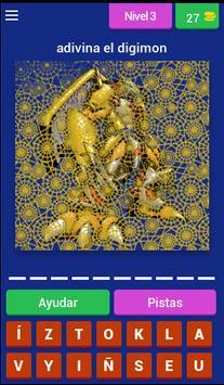 Adivinador Digimon screenshot 2