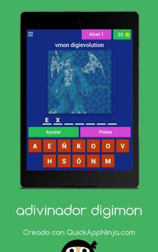 Adivinador Digimon screenshot 6