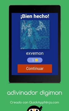 Adivinador Digimon screenshot 7
