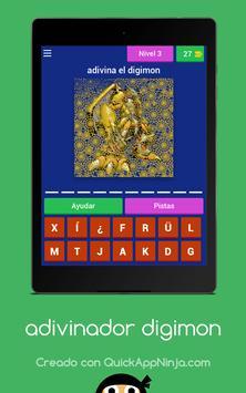 Adivinador Digimon screenshot 8