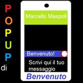 Popup di Benvenuto - Avvisi icon