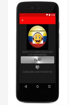 Radio Fm Colombia screenshot 2