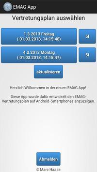EMAG App (IServ) poster