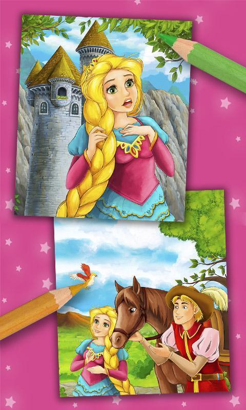Rapunzel Halaman Mewarnai For Android Apk Download