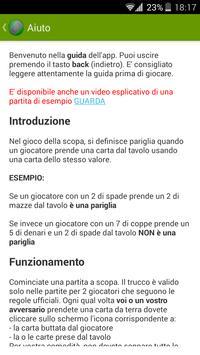 Trucco Scopa apk screenshot