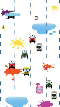 Number Balloon Cars poster